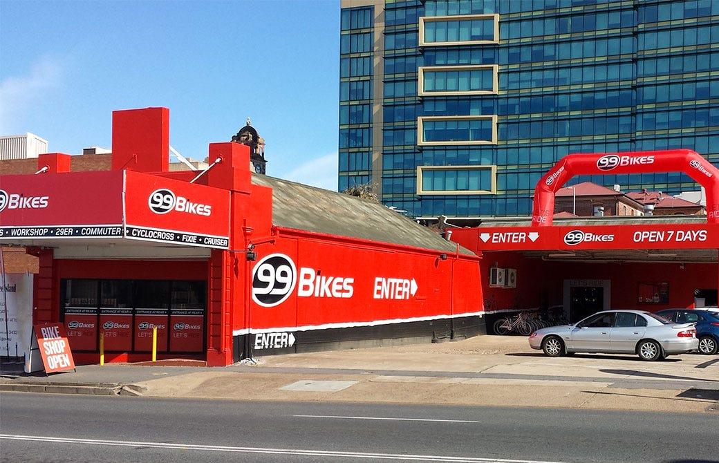 Brisbane Bikes Shops