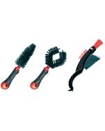 Weldtite Bike Cleaning Brush Set x3