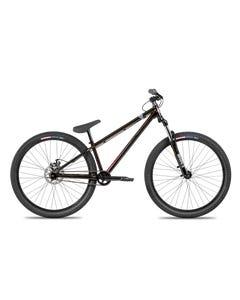 Norco Ryde 26 Dirt Jumper Bike Splatter Red/Black