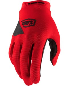 Gloves FF Youth 100% Ridecamp Red
