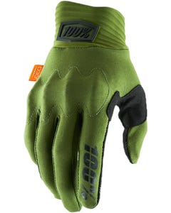 Gloves FF 100% Cognito D30 Army Green/Black