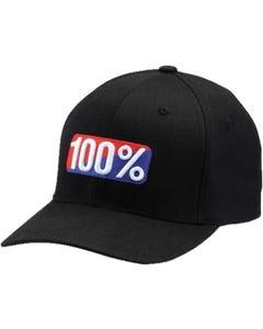 Headwear 100% CLASSIC X-Fit FlexFit Hat Black