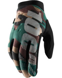 Gloves FF 100% Brisker Camo/Black