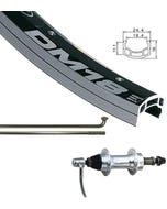 """Alex Rim DM-18 29"""" QR Rear Wheel Silver"""