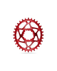 absoluteBLACK Oval Premium Chainring SRAM 3mm Offset Direct Mount Boost 1x Narrow Wide Red