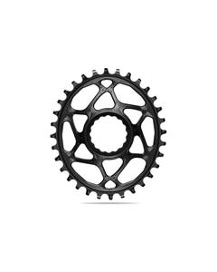 absoluteBLACK Oval Premium Chainring Race Face Cinch 3mm Offset Direct Mount Boost 1x Narrow Wide Black