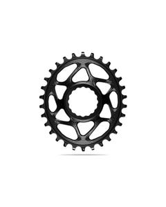 absoluteBLACK Oval Premium Chainring Race Face Cinch 6mm Offset Direct Mount Boost 1x Narrow Wide Black