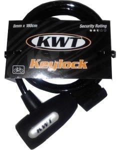 KWT Key Coil Lock 180x8