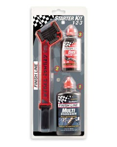Finish Line Brush Kit with Degreaser and Lube | 99 Bikes