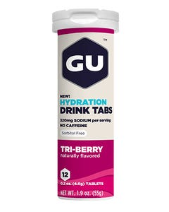 GU Electrolyte Hydration Mix Tablets (Triberry)   99 Bikes