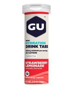 GU Electrolyte Hydration Mix Tablets (Strawberry Lemonade) | 99 Bikes