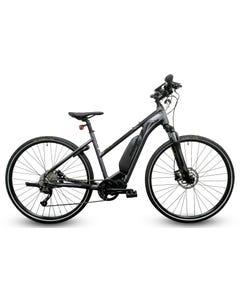 Merida eSpresso 300SE Ladies Electric Hybrid Bike Glossy Anthracite/Matt Black (2020)