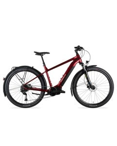 Norco Indie VLT 1 Electric Hybrid Bike Red/Silver (2021)