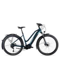 Norco Indie VLT ST Electric Hybrid Bike Green/Silver (2021)