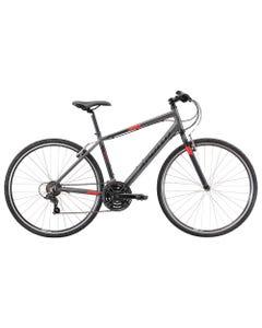 Apollo Trace 10 Flat Bar Road Bike Charcoal/Black/Red (2022)