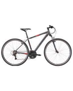 Apollo Transfer 10 Hybrid Bike Charcoal/Black/Red (2022)