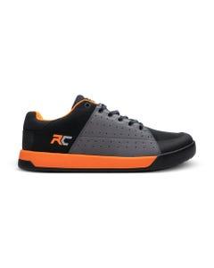 Ride Concepts Livewire Flat Pedal Shoes Charcoal/Orange