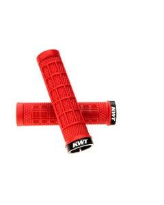 Ryfe BOSSA Single Lock On Pro Grips Red