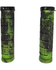 Ryfe BOSSA Single Lock On Pro Grips Marble Green/Black