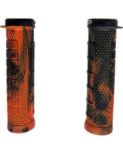Ryfe BOSSA Single Lock On Pro Grips Marble Orange/Black