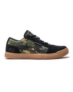 Ride Concepts Vice Flat Pedal Shoes Camo Black