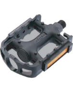 Pedals KWT PLASTIC 1/2 INCH BLACK
