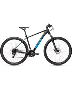 Cube Aim Pro 27.5 Mountain Bike Black/Blue (2021)