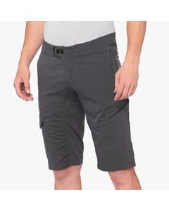 Shorts 100% Ridecamp Charcoal