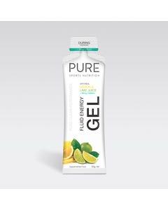 Pure Sports Nutrition Lemon Lime Caffeinated Fluid Energy Gel 50g