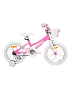 Pedal Hoot Alloy Girls Bike Pink White 16in