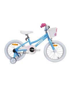Pedal Buzz Steel Girls Light Blue 16in