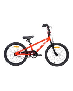 Pedal Bam Alloy Boys Red Black 20in