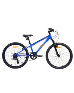 Pedal Crush Boys Bikes Blue/Orange