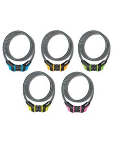 OnGuard Neon Series Combination Cable Lock 180cm x 8mm
