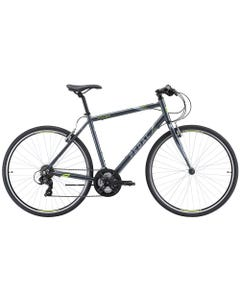 Pedal Pacer Flat Bar Road Bike [Charcoal/Fluro Green] | 99 Bikes