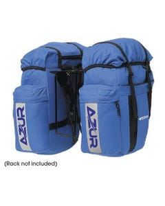 Azur Commuter Pair Pannier Bag Blue