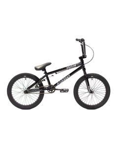 Academy Origin 18 Kids BMX Bike Gloss Black/Black (2022)