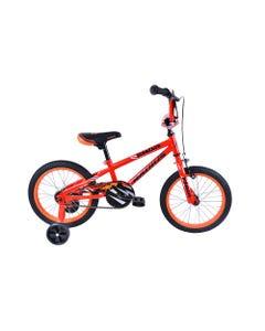 "Radius Dinosaur 16"" Kids Bike Red/Black/Orange (2022)"