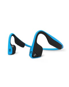 Aftershokz Treks Titanium Wireless Headphones (Ocean Blue) | 99 Bikes