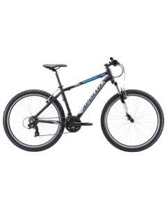 Apollo Aspire 10 Mountain Bike Matte Black/Chrome Blue (2020)