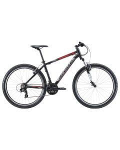 Apollo Aspire 10 Mountain Bike Matte Black Charcoal Red (2020)
