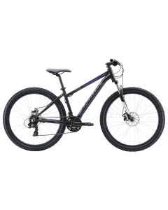 Apollo Aspire 20 Womens Mountain Bike Black/Charcoal/Purple (2020)