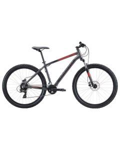 Apollo Aspire 30 Mountain Bike Charcoal Black/Red (2020)
