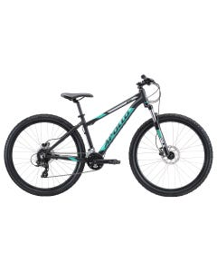 Apollo Aspire 30 Womens Mountain Bike Black/Turquoise/Silver (2020)