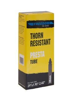 Freedom To Ride Thorn Resistant Presta Valve Tube 29x1.90-2.35 48mm