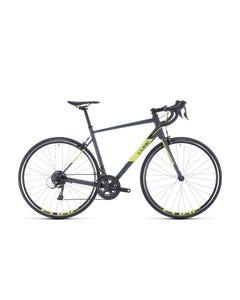 Cube Attain Road Bike Grey/Flash Yellow (2020)