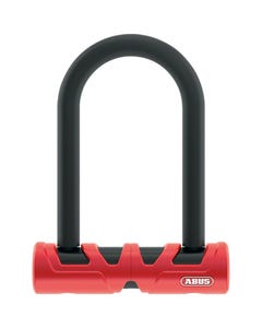 ABUS U-BOLT ULTIMATE 420 140mm with USH Red