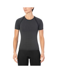 Giro Chrono Women's Short Sleeve Baselayer Charcoal
