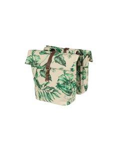 Basil Ever Green Double Pannier Bags Sandshell Beige 32L