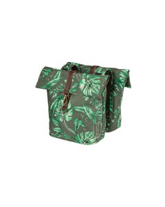 Basil Ever Green Double Pannier Bags Thyme Green 32L